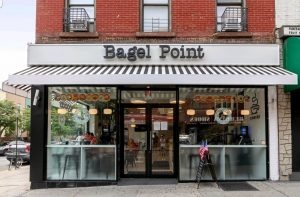 Bagel Point front of shop