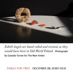 "Cover image from the article ""The State of the Bagel"" by Hannah Goldfield of The New Yorker"