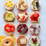 A bagel prepared twelve different ways