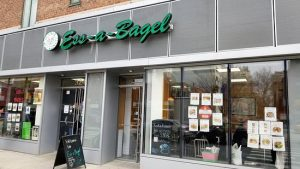 Outside of the new Ess-a-Bagel on 1st Ave in Stuytown